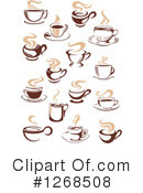 Coffee Clipart #1268508 by Vector Tradition SM