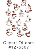 Coffee Clipart #1275667 by Vector Tradition SM
