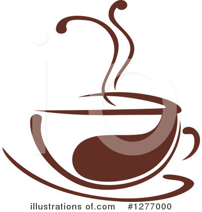 Coffee Clipart #1277000 by Vector Tradition SM