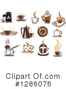 Coffee Clipart #1286076 by Vector Tradition SM