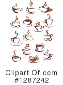Coffee Clipart #1287242 by Vector Tradition SM