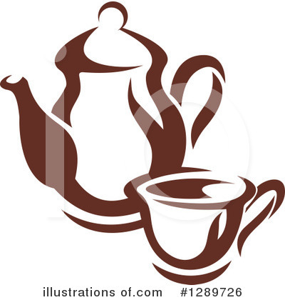 Royalty-Free (RF) Coffee Clipart Illustration by Vector Tradition SM - Stock Sample #1289726