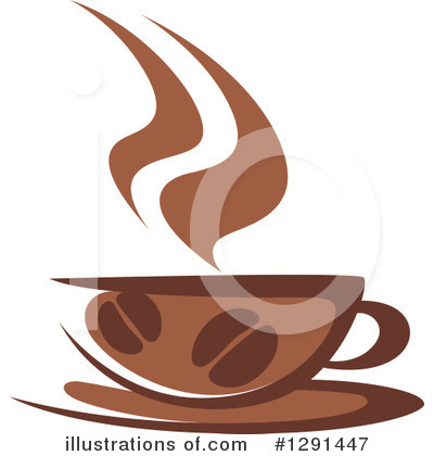 Royalty-Free (RF) Coffee Clipart Illustration by Vector Tradition SM - Stock Sample #1291447