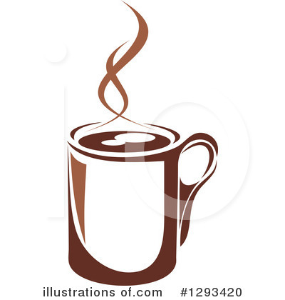 Royalty-Free (RF) Coffee Clipart Illustration by Vector Tradition SM - Stock Sample #1293420