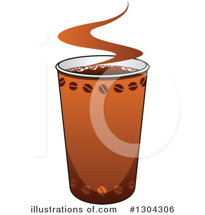 Coffee Clipart #1304306 by Vector Tradition SM