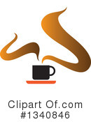 Coffee Clipart #1340846 by ColorMagic