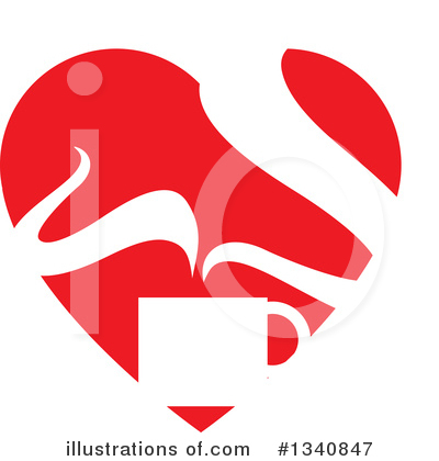 Heart Clipart #1340847 by ColorMagic