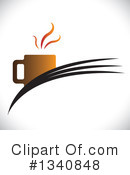 Coffee Clipart #1340848 by ColorMagic