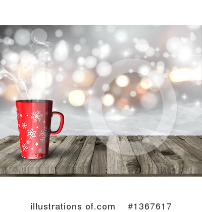 Coffee Clipart #1367617 by KJ Pargeter