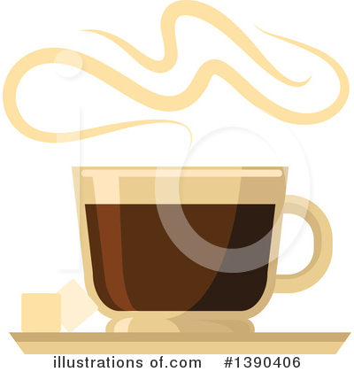 Coffee Clipart #1390406 by Vector Tradition SM