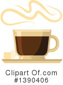 Royalty-Free (RF) Coffee Clipart Illustration #1390406