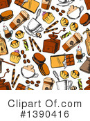 Coffee Clipart #1390416 by Vector Tradition SM