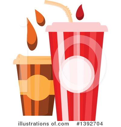 Coffee Clipart #1392704 by Vector Tradition SM