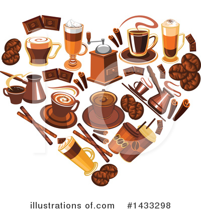 Coffee Clipart #1433298 by Vector Tradition SM