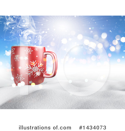 Royalty-Free (RF) Coffee Clipart Illustration by KJ Pargeter - Stock Sample #1434073