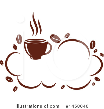 Coffee Bean Clipart #1458046 by Vector Tradition SM