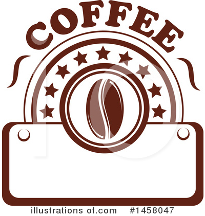 Coffee Beans Clipart #1458047 by Vector Tradition SM