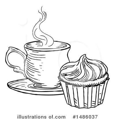 Cupcake Clipart #1486037 by AtStockIllustration