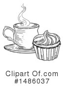 Royalty-Free (RF) Coffee Clipart Illustration #1486037