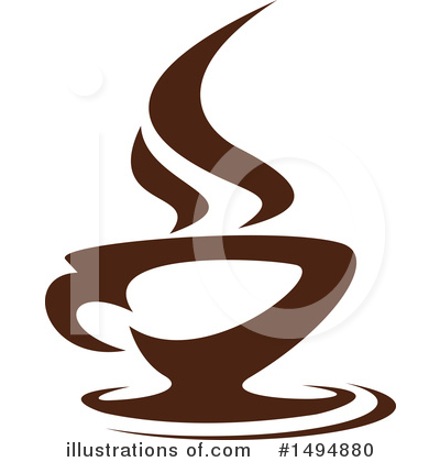 Coffee Clipart #1494880 by Vector Tradition SM