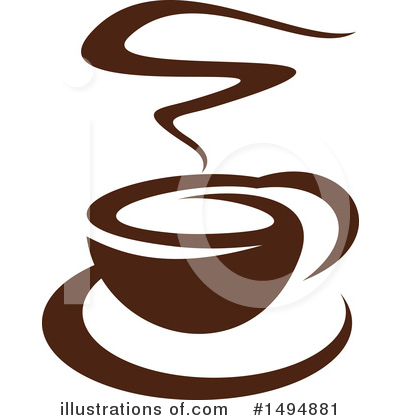 Coffee Clipart #1494881 by Vector Tradition SM