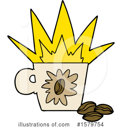 Coffee Clipart #1579754 by lineartestpilot