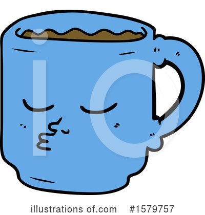 Coffee Clipart #1579757 by lineartestpilot