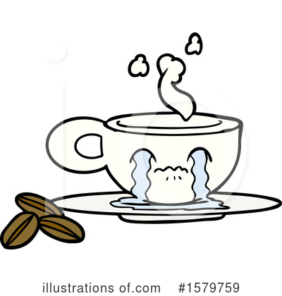 Coffee Clipart #1579759 by lineartestpilot