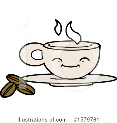 Coffee Clipart #1579761 by lineartestpilot