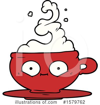 Coffee Clipart #1579762 by lineartestpilot