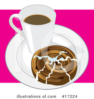 Royalty-Free (RF) Coffee Clipart Illustration by Maria Bell - Stock Sample #17224