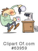 Royalty-Free (RF) Coffee Clipart Illustration #63959