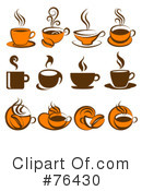 Royalty-Free (RF) Coffee Clipart Illustration #76430
