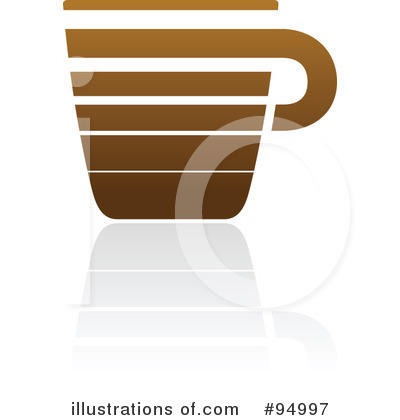 Royalty-Free (RF) Coffee Logo Clipart Illustration by elena - Stock Sample #94997