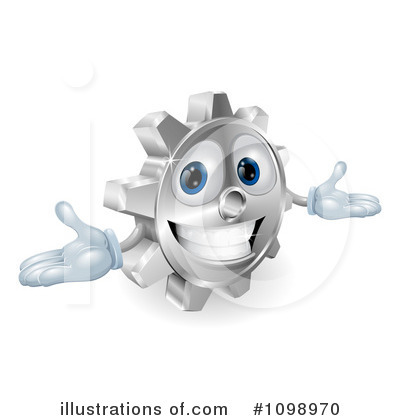 Gears Clipart #1098970 by AtStockIllustration