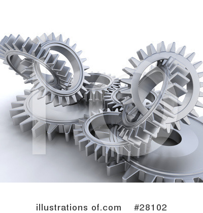 Gears Clipart #28102 by KJ Pargeter