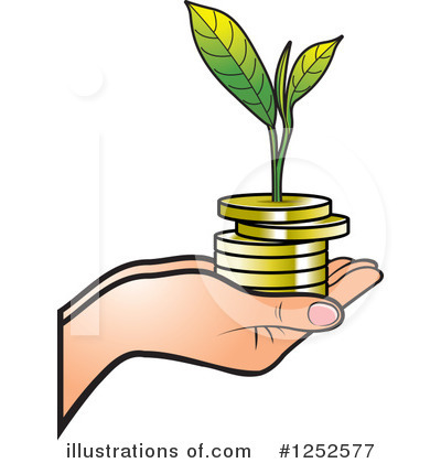 Finance Clipart #1252577 by Lal Perera