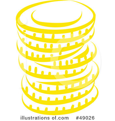 Coins Clipart #49026 - Illustration by Prawny