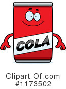 Royalty-Free (RF) Cola Clipart Illustration #1173502