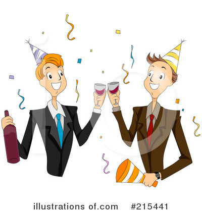 Colleagues Clipart #215441 by BNP Design Studio