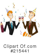 Royalty-Free (RF) Colleagues Clipart Illustration #215441