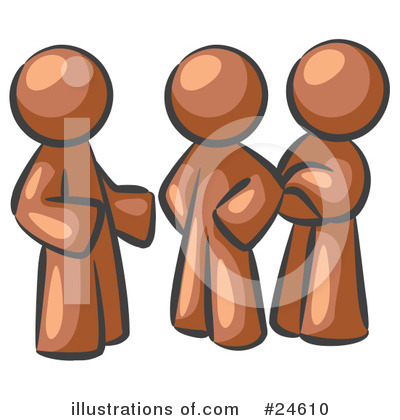 Brown Collection Clipart #24610 by Leo Blanchette