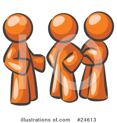 Colleagues Clipart #24613 by Leo Blanchette