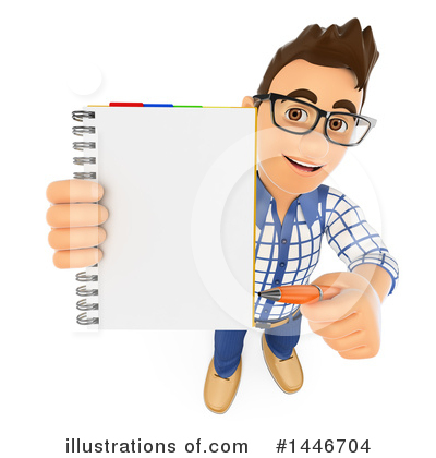 College Student Clipart #1446704 by Texelart