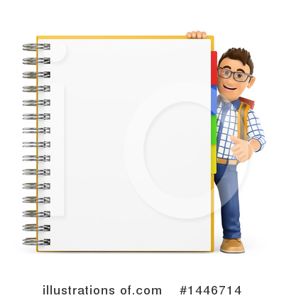 College Student Clipart #1446714 by Texelart