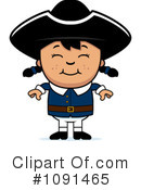 Royalty-Free (RF) Colonial Clipart Illustration #1091465