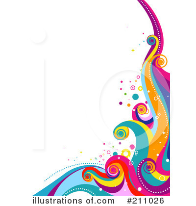 Rainbow Wave Clip Art