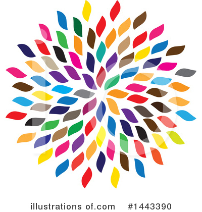 Flower Clipart #1443390 by ColorMagic