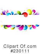 Royalty-Free (RF) Colorful Clipart Illustration #230111
