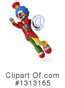 Colorful Clown Clipart #1313165 by Julos